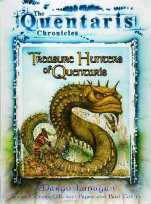 Treasure Hunters of Quentaris by Margo Lanagan image