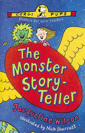 The Monster Story-teller by Jacqueline Wilson image