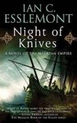 Night of Knives by Ian C Esslemont image