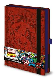 Marvel Comics: A5 Premium Notebook -(Retro Spider-Man)