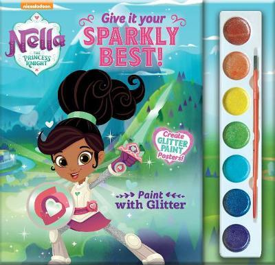 Nella the Princess Knight Paint with Glitter Give it Your Sparkly Best!