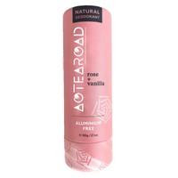 Aotearoad Natural Deodorant - Rose + Vanilla (60g)