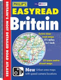 Philip's Easyread Atlas Britain: 2006 image
