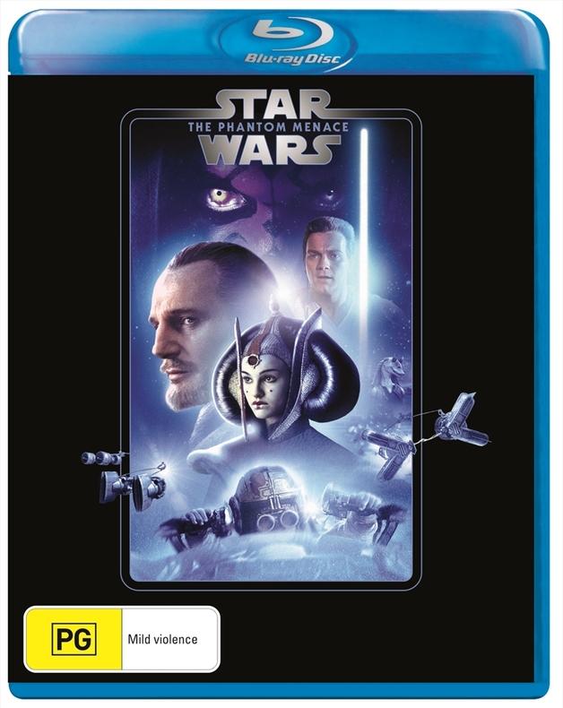 Star Wars: Episode I - The Phantom Menace on Blu-ray