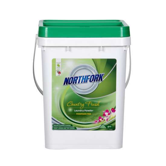Northfork GECA Laundry Powder 9kg - Country Fresh
