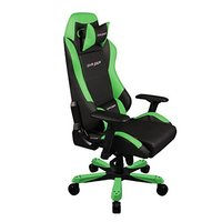 DXRacer Iron Series IS11 Gaming Chair (Black & Green) for PC
