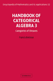 Handbook of Categorical Algebra: v. 3 by Francis Borceux image
