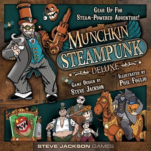 Munchkin: Steampunk - Deluxe Edition