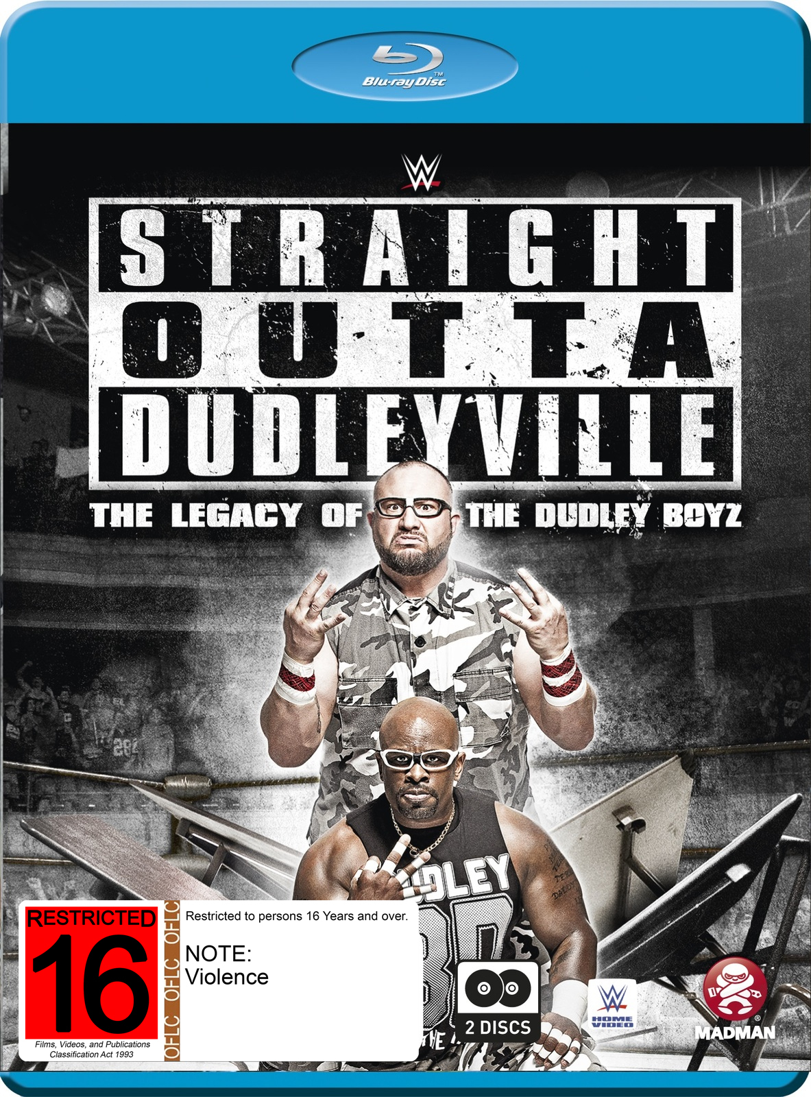 WWE: Straight Outta Dudleyville: The Legacy Of The Dudley Boyz on Blu-ray image