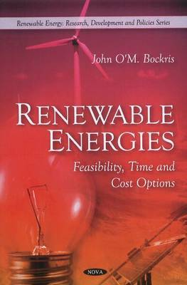 Renewable Energies by John O'm Bockris image