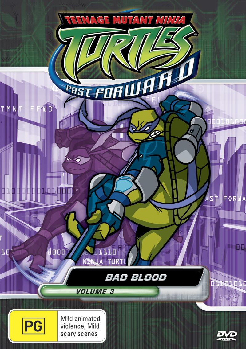Teenage Mutant Ninja Turtles - Fast Forward: Vol. 3 - Bad Blood on DVD image
