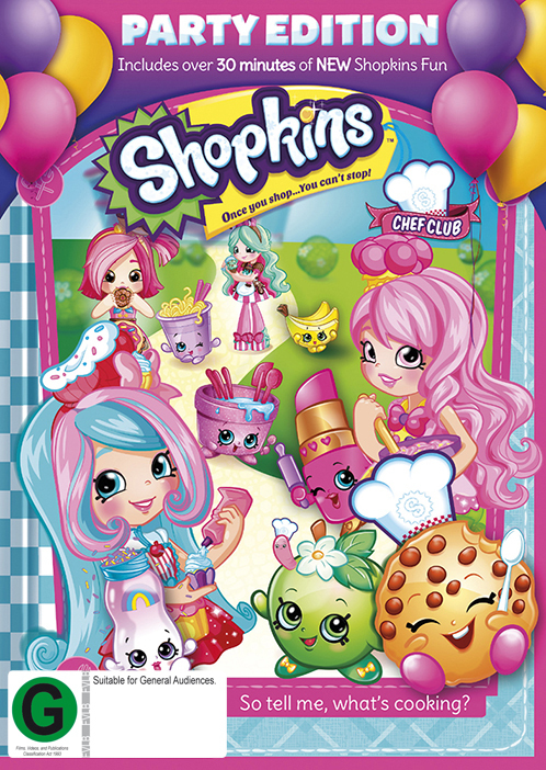 Shopkins Chef Club: Party Edition on DVD image