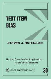 Test Item Bias by Steven J Osterlind