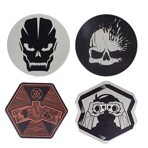Call of Duty Metal Coasters (4-Pack)