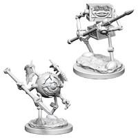 D&D Nolzurs Marvelous: Unpainted Miniatures - Monodrone & Duodrone