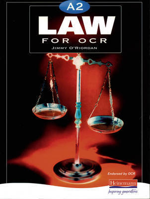 A2 Law for OCR by Jimmy O'Riordan image