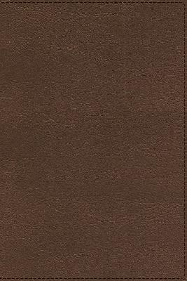NASB, Heritage Bible, Passaggio Setting, Leathersoft, Brown, 1995 Text, Comfort Print by Zondervan