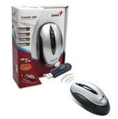 Genius Traveler 600 Wireless USB Mouse Silver/Black