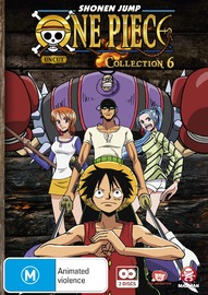 One Piece (Uncut) Collection 6 (2 Disc Set) on DVD