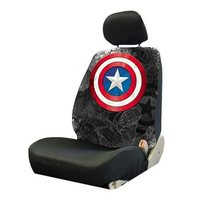 Marvel: Captain America Shield - Low Back Seat Cover