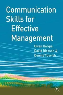 Communication Skills for Effective Management by Owen Hargie image