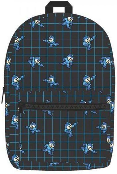 Mega Man Pixel Sublimated Backpack