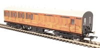 Hornby: LNER Thompson Non-corridor 3rd Class Brake Coach, Teak image