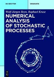 Numerical Analysis of Stochastic Processes by Wolf-Jurgen Beyn image