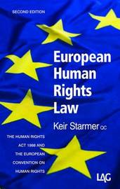 European Human Rights Law by Keir Starmer image