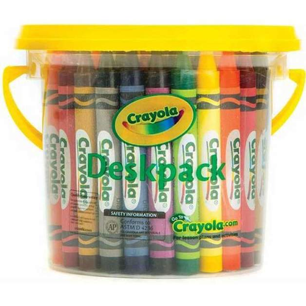Crayola: Large Crayon - Deskpack (48-Piece/6 Colours)