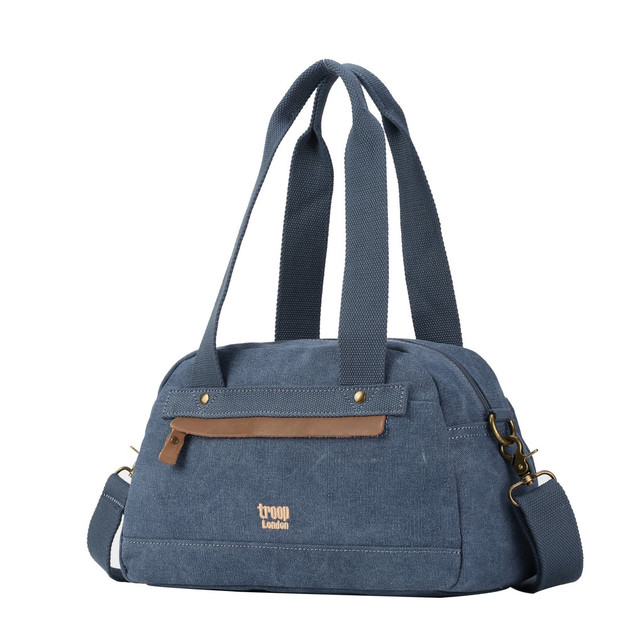 Troop London: Metro Small Shoulder Bag - Blue