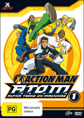 Action Man - A.T.O.M.: Alpha Teens On Machines - Vol. 1 on DVD