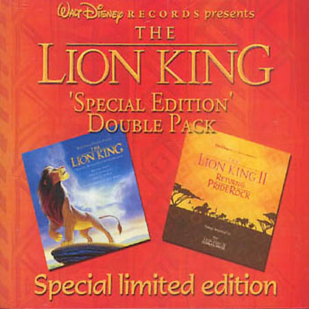 Lion King & Lion King II Soundtrack by Various Artists