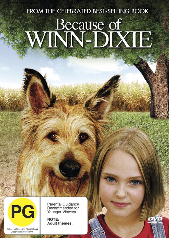 Because of Winn-Dixie on DVD