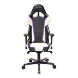DXRacer Racing Series RH110 Gaming Chair (Black,White & Purple) for