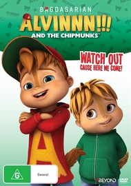Alvin And The Chipmunks: Watch Out Cause Here We Come! on DVD