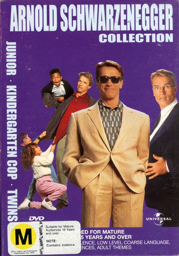 Arnold Schwarzenegger Collection on DVD image
