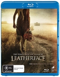Leatherface on Blu-ray