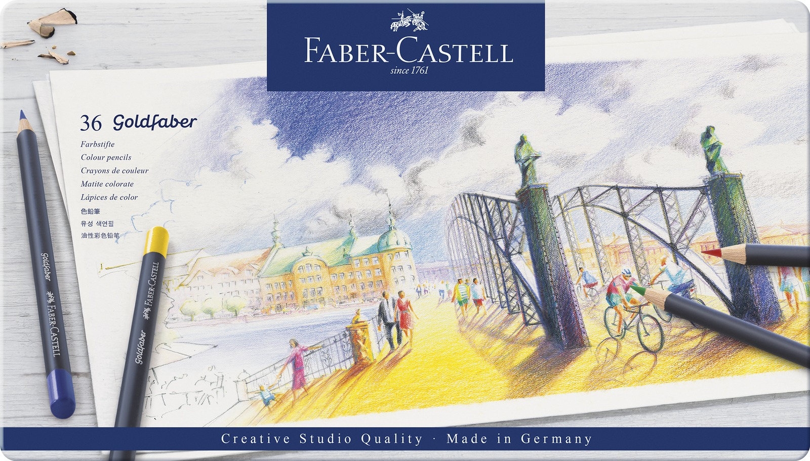 Faber-Castell: Goldfaber (Tin of 36) image