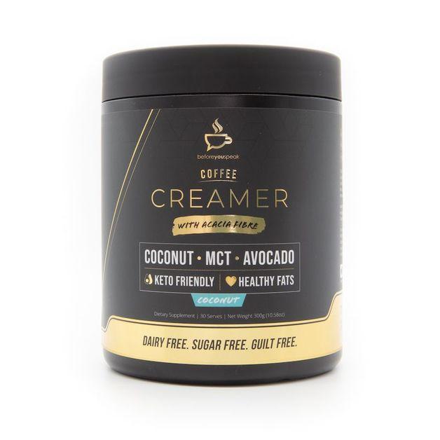 Before You Speak Coconut Coffee Creamer (30 serves)