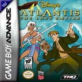 Atlantis The Lost Empire for Game Boy Advance