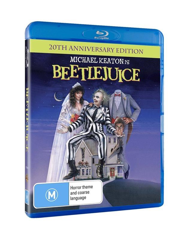 Beetlejuice - 20th Anniversary Edition on Blu-ray