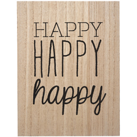 Transomnia: 'Happy Happy happy' Sign