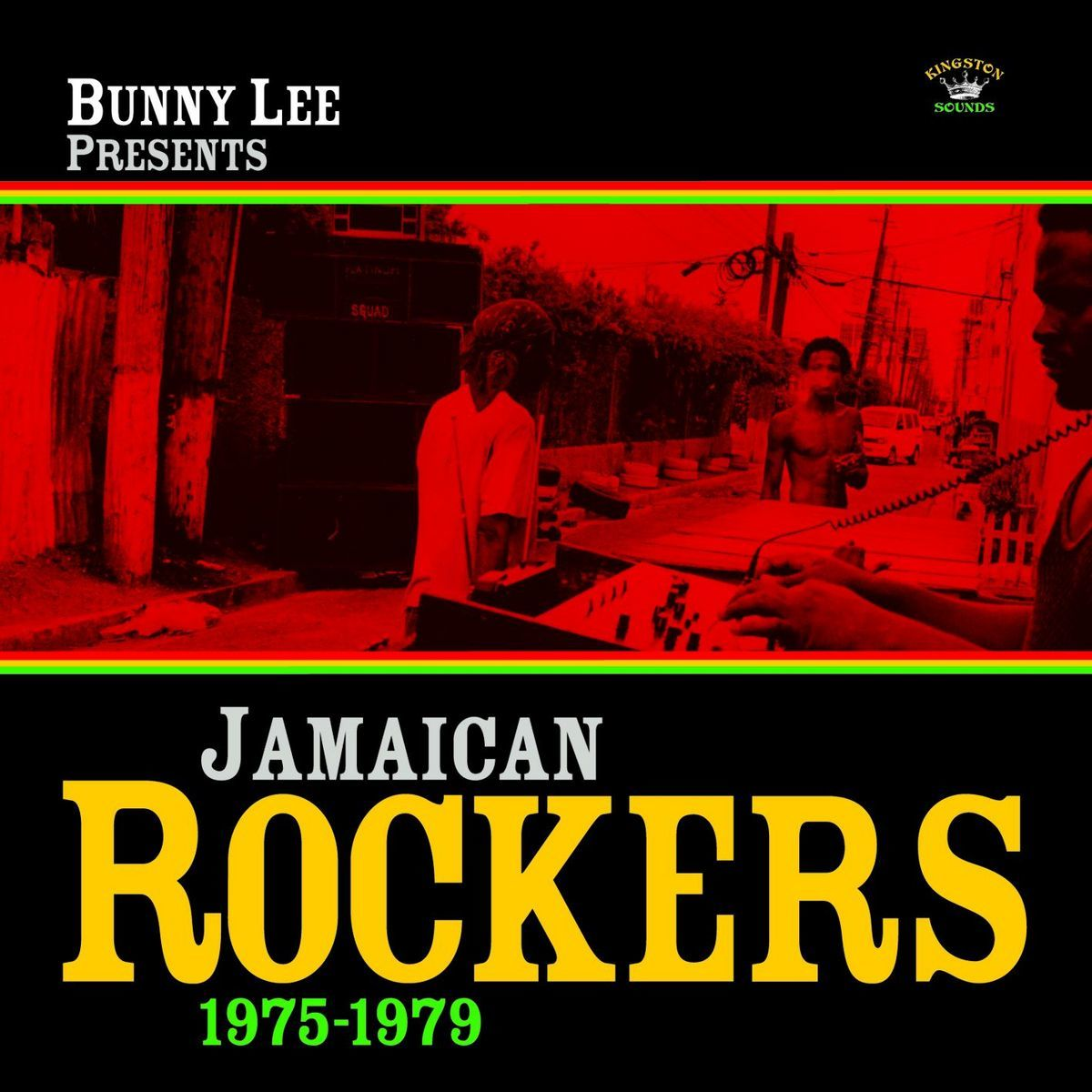 Bunny Lee Presents Jamaican Rockers 1975-1979 (LP) by Various image