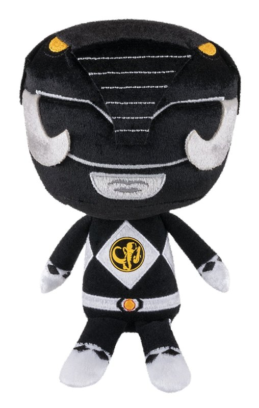Power Rangers - Black Ranger Hero Plush