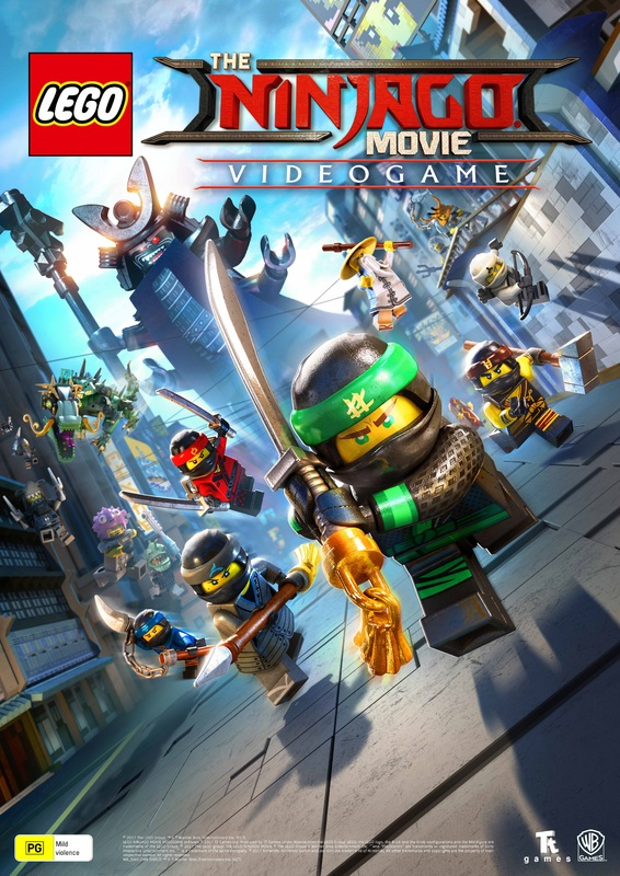 LEGO Ninjago Movie Poster!