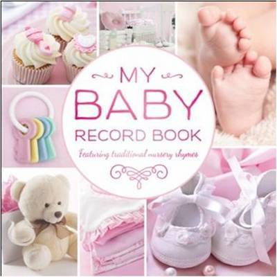 Baby Record Book rework (pink)