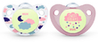 NUK: Glow in the Dark Soother - 0-6 Months (2 Pack) - Pink