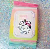 The Creme Shop: Hello Kitty Unicorn Cleansing Towelettes - Micellar Water (20s)