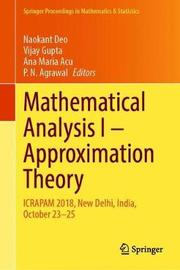 Mathematical Analysis I - Approximation Theory
